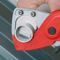 Pipe Cutter for plastic conduit pipes and hoses